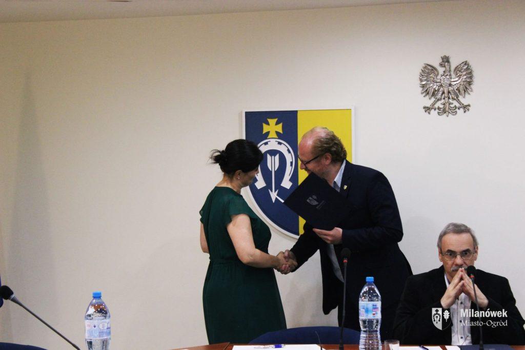 Powołanie Pani Mai Winiarskiej na członka Rady Gospodarczej